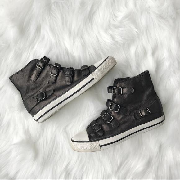 Ash Shoes | Ash Pewter Virgin High Top
